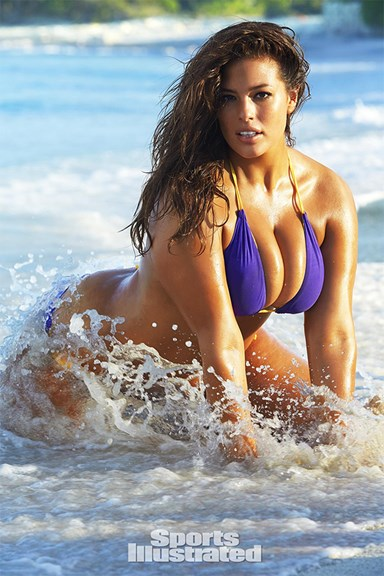 """Ashley Graham On Landing Her Sports Illustrated Swimsuit Cover: """"This Is Where We're Headed"""""""
