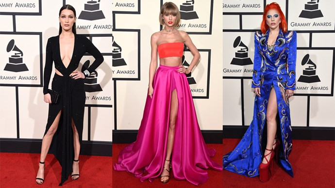 at the 2016 GRAMMY Awards.