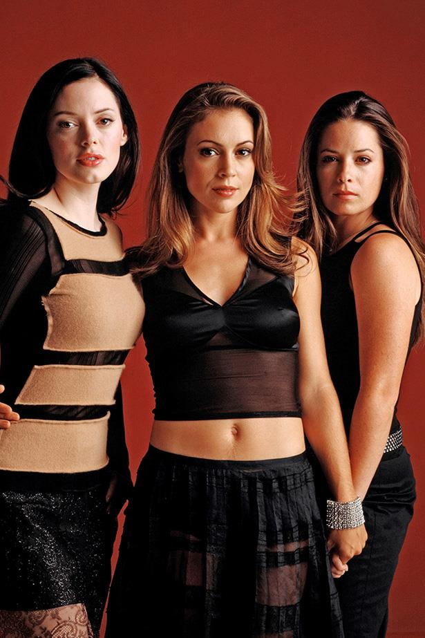 """**Prue, Piper and Phoebe, *Charmed*** <br><br> Cover your ears *Charmed* fans! Alyssa Milano opened up about her feud with Shannen Doherty saying, """"I can tell you that we were on the air with her for three years and there were definitely some rough days."""""""
