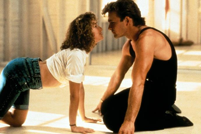 **Baby and Johnny, *Dirty Dancing*** <br><br> Patrick Swayze and Jennifer Grey apparently clashed on the set of *Dirty Dancing*—although Jennifer admitted they did have great chemistry.