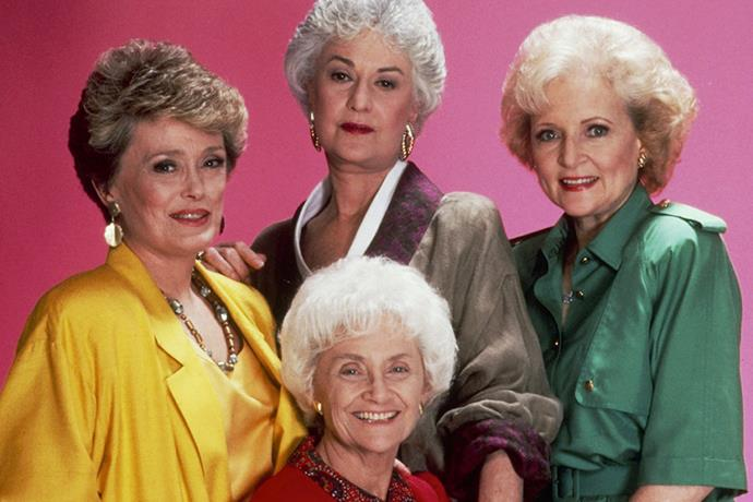 **Dorothy and Rose, *Golden Girls*** <br><br> Betty White and Bea Arthur of *Golden Girls'* beef escalated when Bea called Betty a very rude name at an awards ceremony. Yikes.