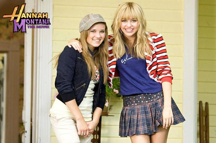 **Lilly and Miley, *Hannah Montana*** <br><br> Growing up together in front of a camera seems to have taken its toll on Emily Osment and Miley Cyrus from *Hannah Montana*. The two had a falling out at the show's end and haven't been friends since.