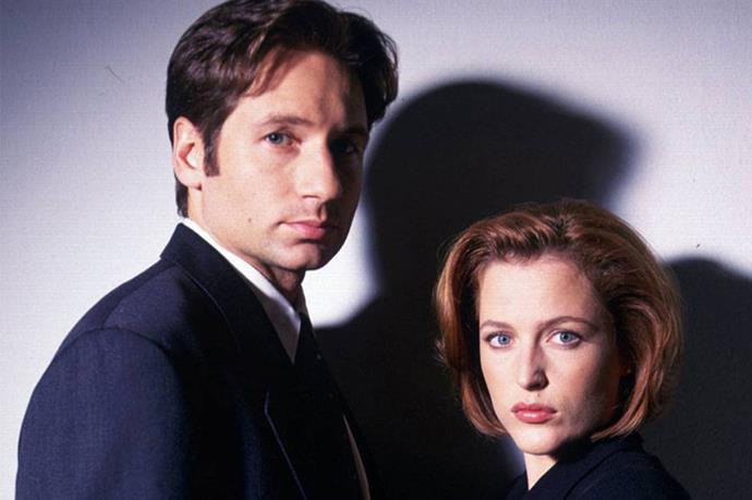 **Mulder and Scully, *The X-Files*** <br><br> Say it ain't so! Gillian Anderson and David Duchovny are best of friends now but in the first one or two seasons of *The X-Files*, they couldn't stand each other.