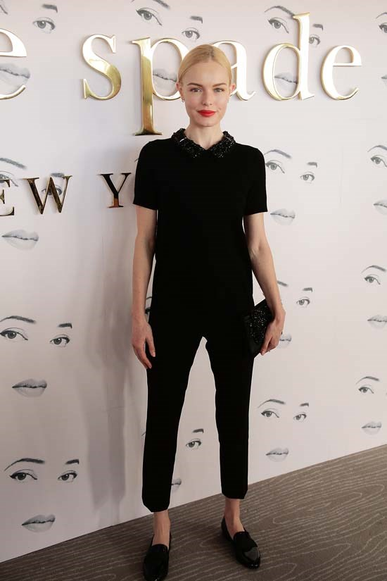 Kate Bosworth at Kate Spade New York AW16