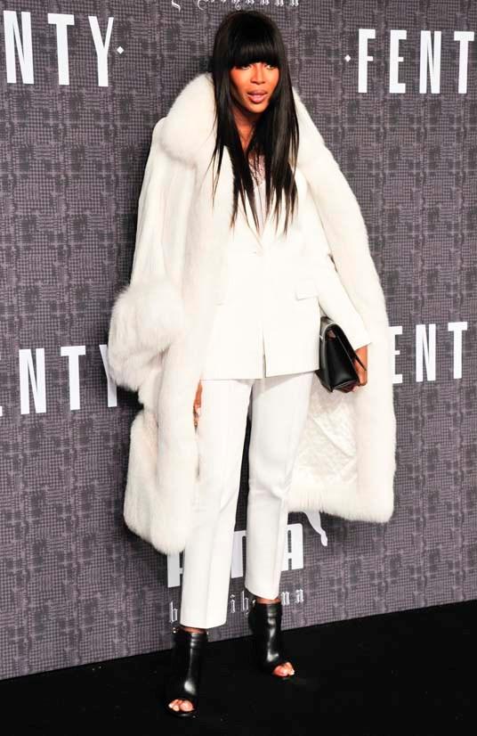 Naomi Campbell at FENTY X PUMA by Rihanna AW16