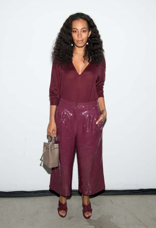 Solange Knowles at Tibi AW16