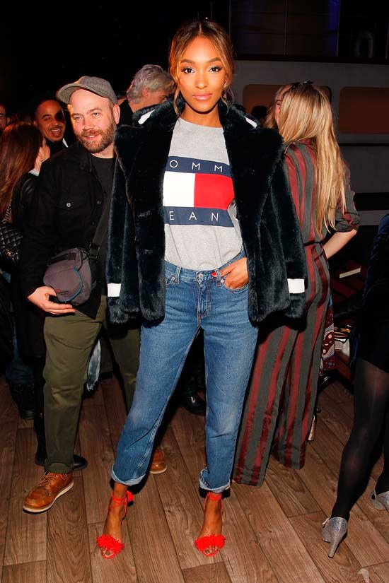 Jourdan Dunn at Tommy Hilfiger Women's AW16