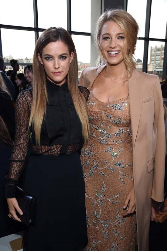 Riley Keough and Blake Lively at Michael Kors AW16