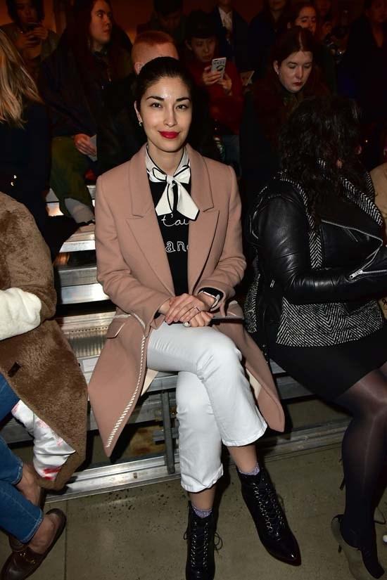 Caroline Issa at DKNY Women's AW16