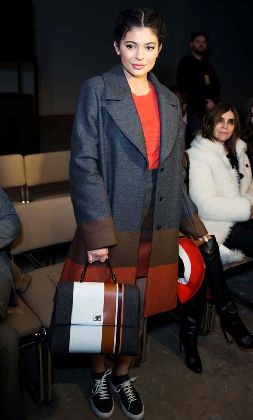Kylie Jenner at Boss Womenswear AW16