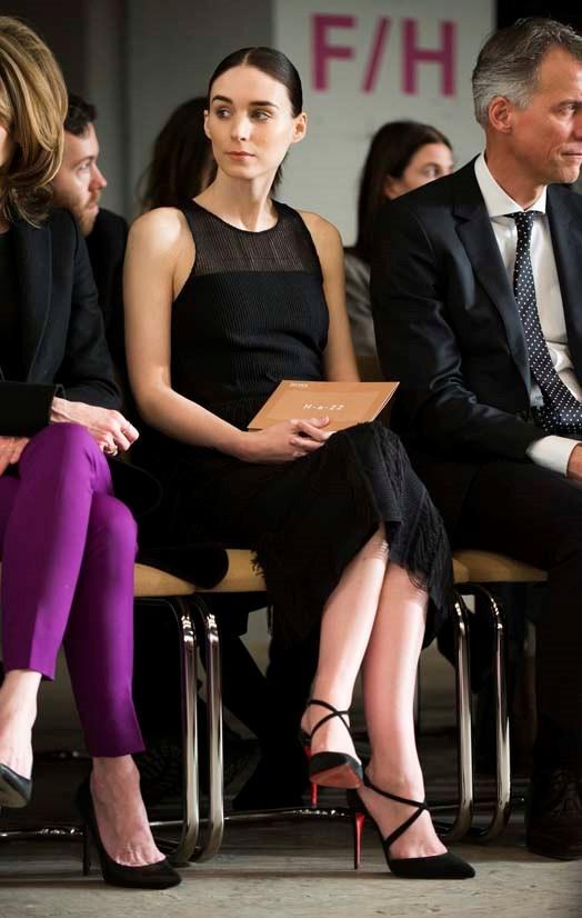 Rooney Mara at Boss Womenswear AW16