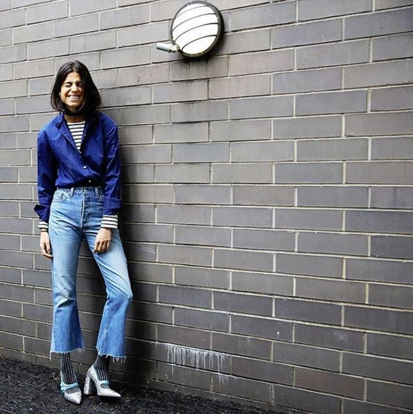 <p><strong>@manrepeller</strong></p> <p>A humorous approach for hard-core fashion lovers.</p>