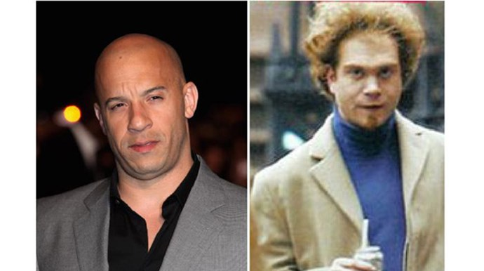 <p><strong>Vin Diesel and Paul Vincent</strong></p> <p>They may appear to be complete opposites but Vin has a twin brother, Paul, who is a film editor.</p>