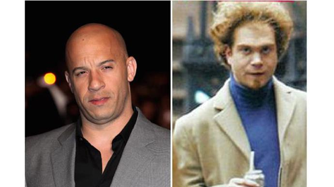 <p><strong>Vin Diesel and Paul Vincent</strong></p> <p>They may appear to be complete opposites but Vin has a twin brother, Paul, who is a film editor. With the similarities between the two, perhaps Paul will be the perfect stunt double for Vin's next *Fast & Furious* film.