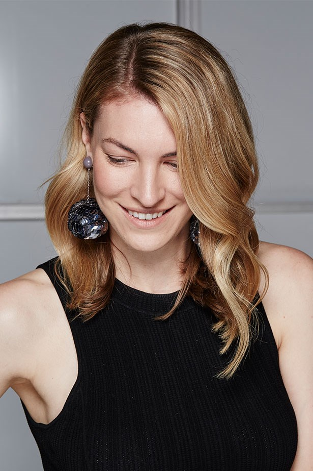 "JANNA JOHNSON O'TOOLE, BEAUTY AND FITNESS DIRECTOR <p> <p> Trend: Oversized earrings<p> <p> ""I'm not one to usually don earrings larger than a five-cent piece but these disco-fabulous Prada beauties have me rethinking my entire approach to accessorising. Maybe more is more!""<p> <p> Earrings, $820, Prada, (02) 9223 1688"