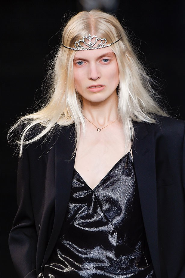 Trend: Tiaras<p> <p> Inspiration: Saint Laurent SS16
