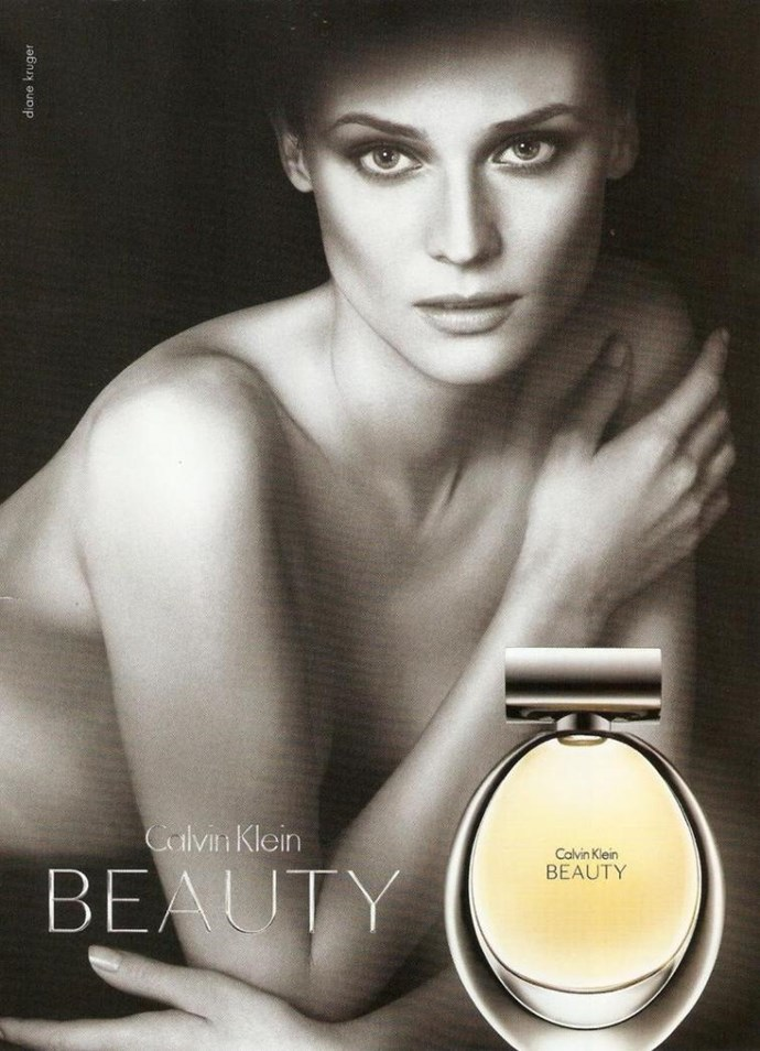 Who better to advertise a perfume named 'Beauty' than the one and only Diane Kruger?