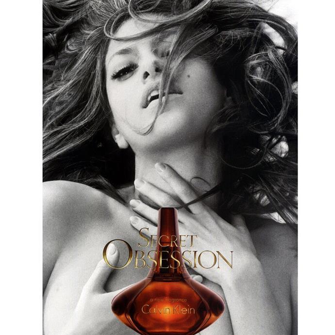 Eva Mendes was the face of <em>Secret Obsession</em>.