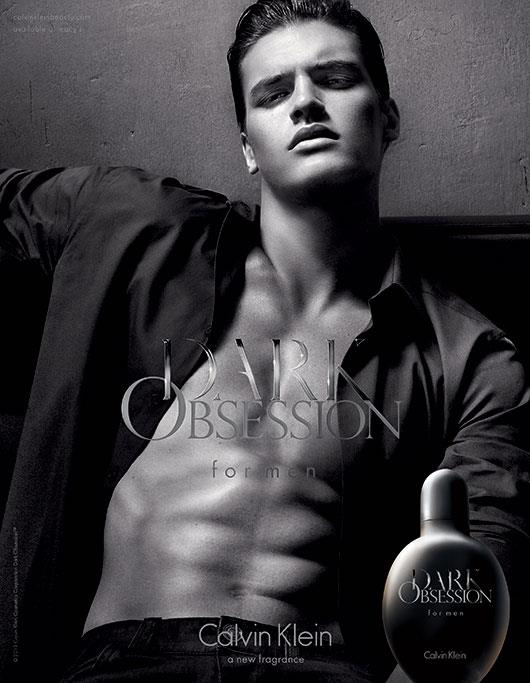 Male model Matthew Terry has been featured in several of CK's campaigns.