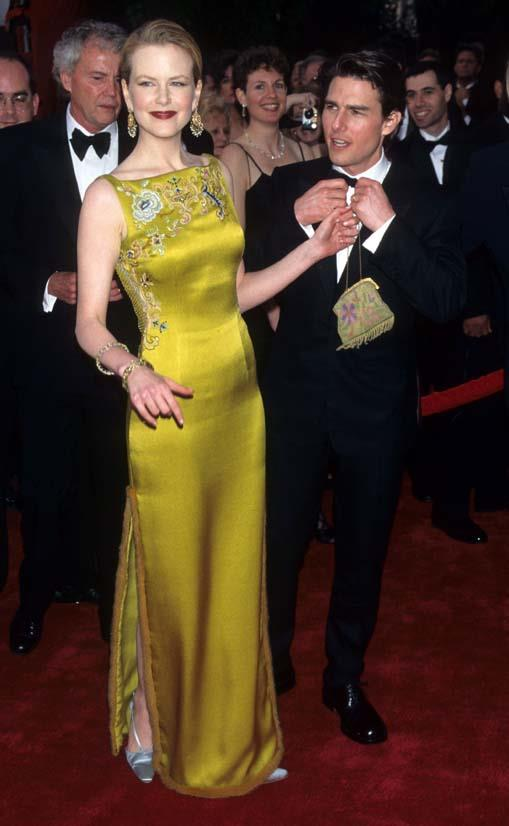 <strong>Nicole Kidman</strong>, 1997 <br><br> <strong>Designer:</strong> Dior <br> <strong>Why we love it:</strong> This dress was an Oscars game-changer (and not because of the Tom Cruise arm candy). The colour of this gown was so vibrant and the detailing was the perfect feminine touch.