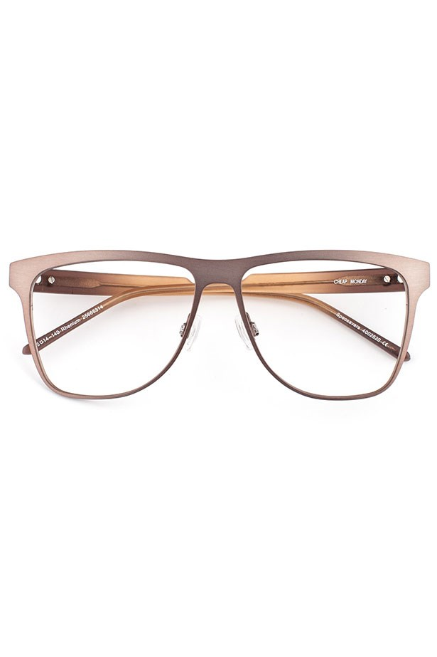 "Frames, $89, Cheap Monday, <a href=""http://www.specsavers.com.au/glasses/rhenium?sku=25665314"">specsavers.com.au</a>"
