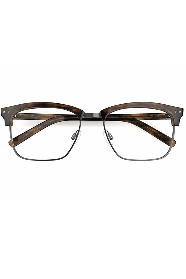 "Frames, $299, Karl Largerfeld, <a href=""http://www.specsavers.com.au/glasses/kl-09?sku=25663990 "">specsavers.com.au</a>"