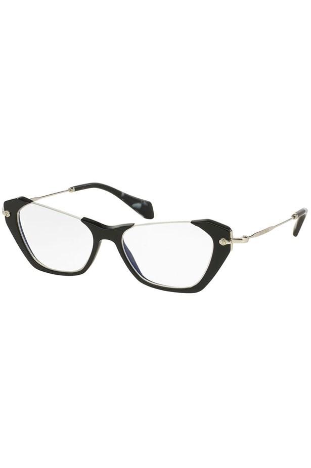 "Frames, $360, Miu Miu, <a href=""http://www.opsm.com.au/frames/miu-miu/oversize/mu04ov/8053672438390 "">opsm.com.au</a>"