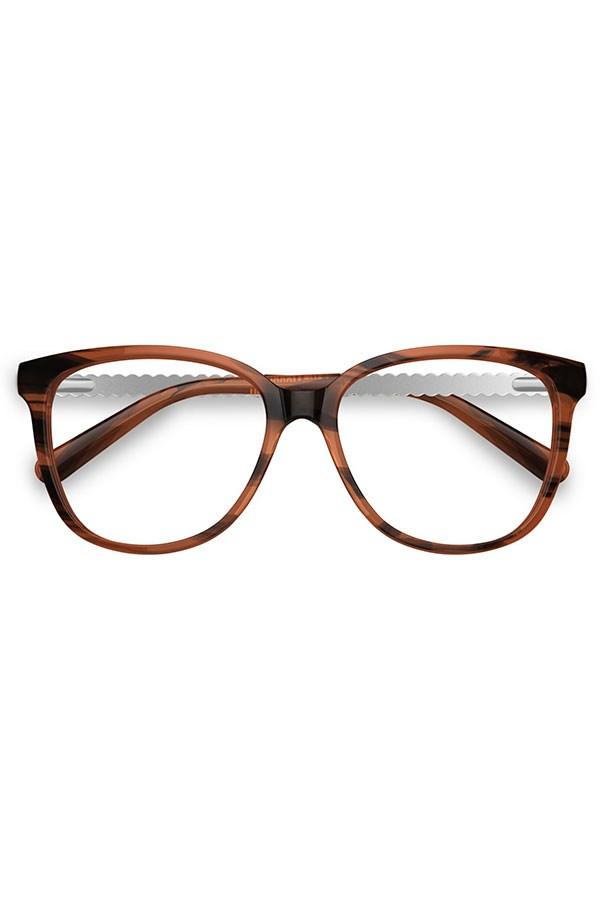 """Frames, $299, Love Moschino, <a href=""""http://www.specsavers.com.au/glasses/lm-11?sku=30400245 """">specsavers.com.au</a>"""