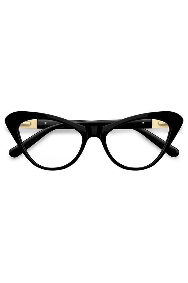 """Frames, $199, Love Moschino, <a href=""""http://www.specsavers.com.au/glasses/lm-07?sku=30400207"""">specsavers.com.au</a>"""