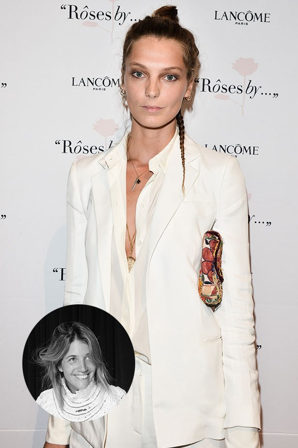 "Daria Werbowy<p> <p> ""Daria's my muse all year round, but this winter I'm hoping to rock white-on-white and, of course, look exactly like her!"" – Carly Roberts, Creative Director"