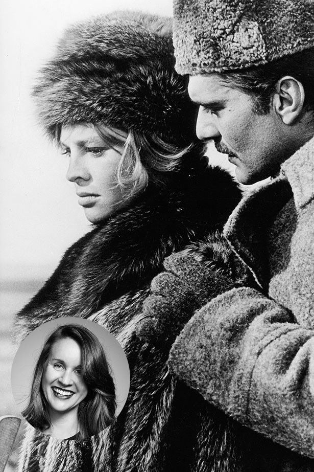 "Julie Christie<p> <p> ""Julie Christie in <em>Doctor Zhivago</em> is how I hope to look every winter in the snow, looking way stylish in my faux fur. Such a shame that I hate snow!"" – Juanita Field, Acting Associate Art Director"