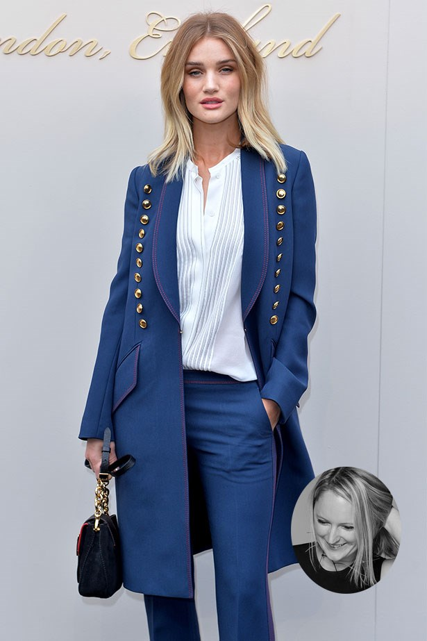 "Rosie Huntington-Whiteley<p> <p> ""Rosie Huntington-Whiteley can out-layer any style expert on the planet, and I'll put money on that."" – Brooke Bickmore, Workflow Director"