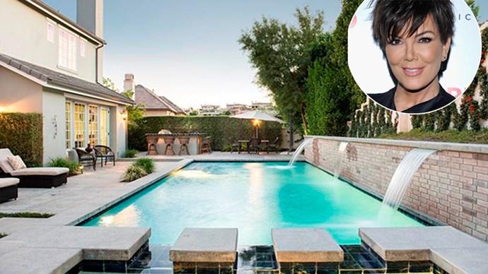 Kris Jenner Calabasas mansion.