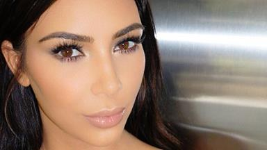 """Kim Kardashian's """"Natural"""" Beauty Look Requires 3 Different Eyeliners"""