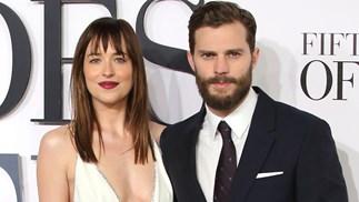 Dakota Johnson Jamie Dornan Fifty Shades Of Grey
