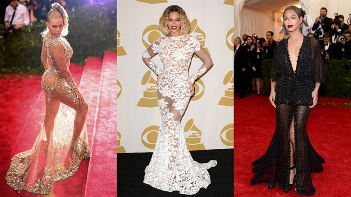 <strong>Who:</strong> Beyoncé <br> <strong>Signature Style:</strong> wow factor