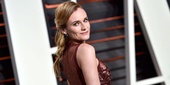 Diane Kruger at the 2016 Vanity Fair Oscars after party.