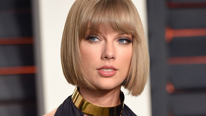 Taylor Swift at the 2016 Vanity Fair Oscar Party