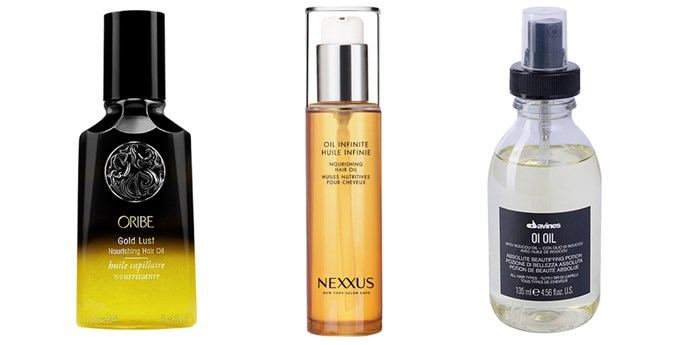 Hair oils.
