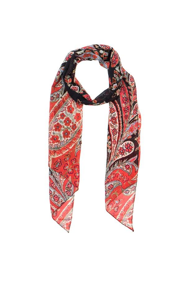 "<a href=""http://www.fwrd.com/product-isabel-marant-etoile-fay-flower-foulard-scarf-in-black/ETOI-WV4/?d=Womens&srcType=plpaltimage"">Scarf, approx. $245, <strong>Isabel Marant Étoile</strong> at fwrd.com</a>"