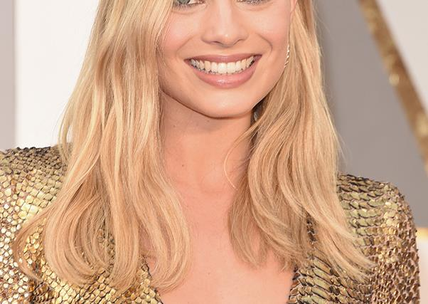 Margot Robbie at the 2016 Oscars.