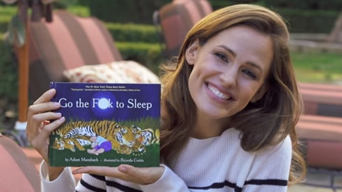 Jennifer Garner reading Go The Fuck To Sleep.