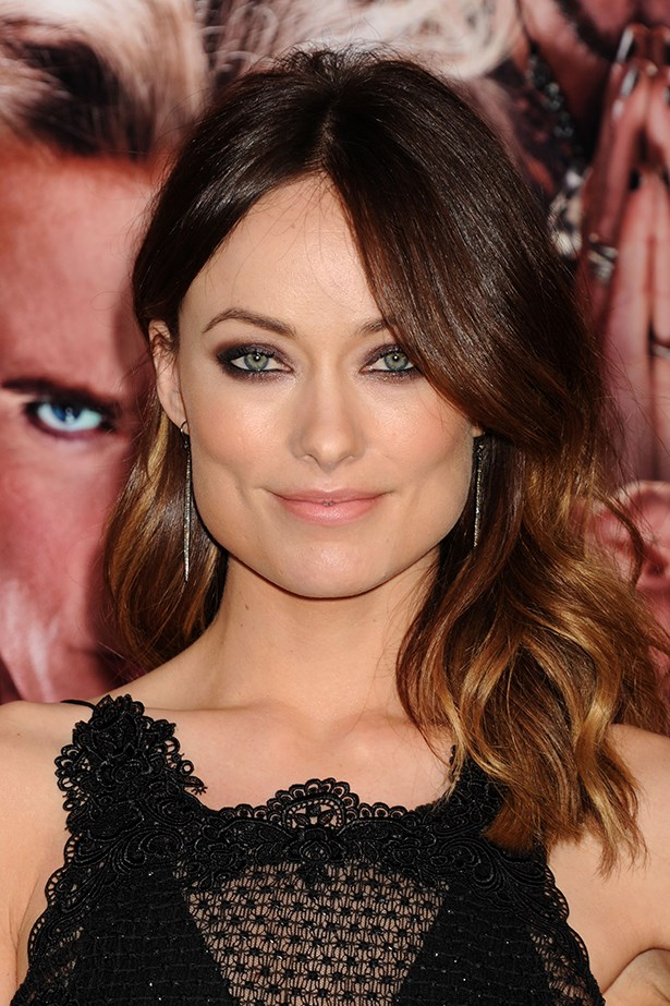 2013, gorgeous green eyes pop against a smoky, sultry shadow at the LA premier of <em>The Incredible Burt Wonderstone.</em>