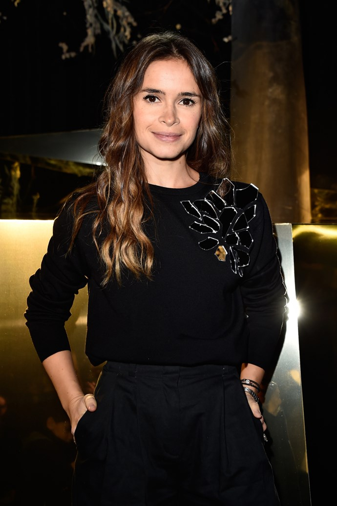 Miroslava Duma at H&M