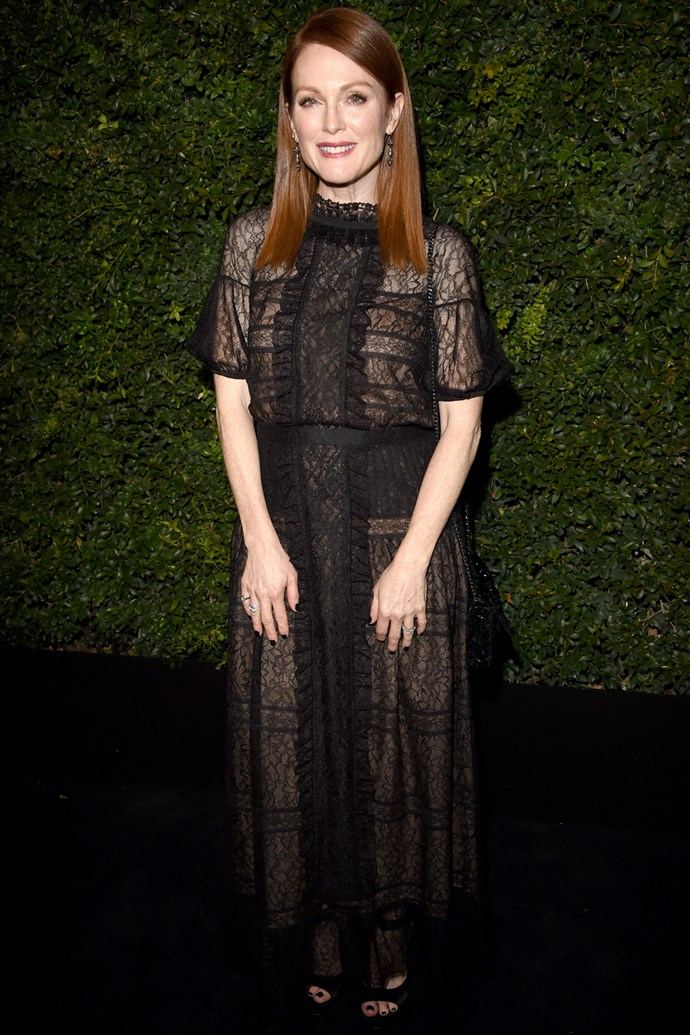Julianne Moore at a pre-Oscar dinner