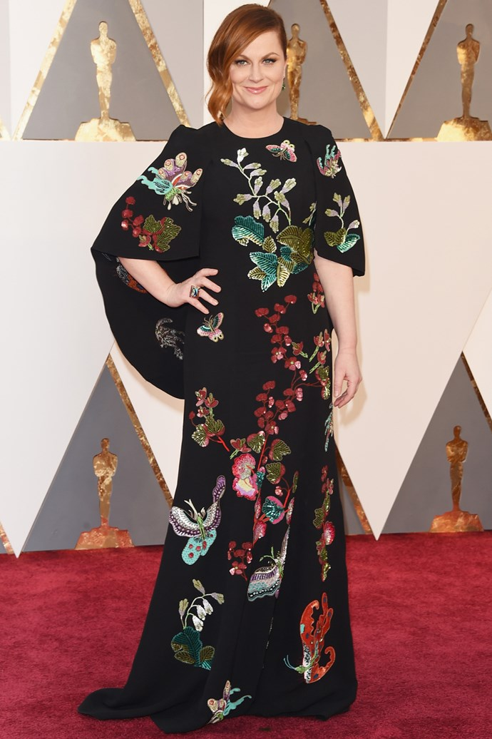 Amy Poehler at the Oscars