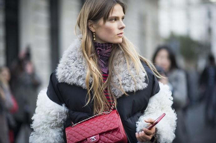 Paris Fashion Week AW16 Street Style