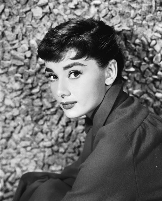 <strong>Audrey Hepburn</strong> <br><br> Perhaps one of the most famous bobs of all time, Hollywood icon Audrey Hepburn wore her pixie cut with the perfect fringe.