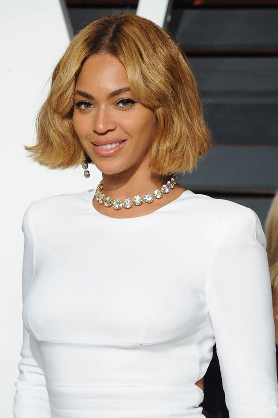 <strong>Beyoncé</strong> <br><br> Beyoncé's hair (and fashion) is always a bit of a surprise, but she went short in 2014 and we loved it.