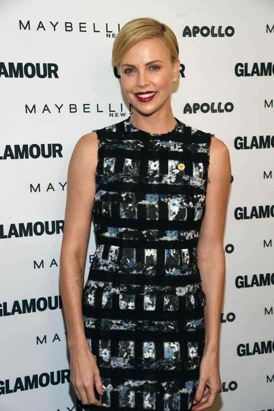 <strong>Charlize Theron</strong> <br><br> Charlize Theron is another pixie cut aficionado and she always gets it right.